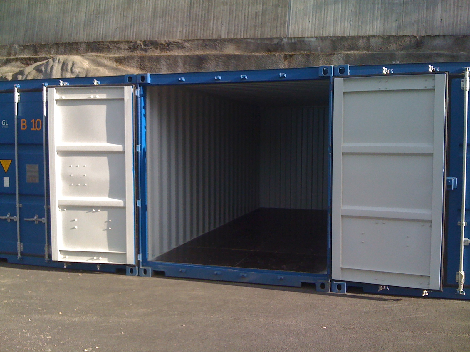 leie container oppbevaring